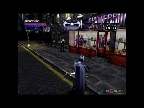 Batman & Robin - Gameplay PSX (PS One) HD 720P (Playstation classics)