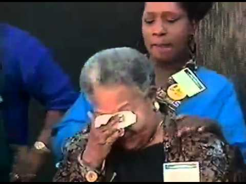 Mamie Till - Civil Rights Memorial dedication