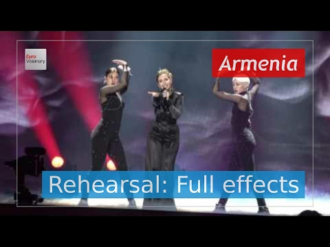 Artsvik - Fly With Me - Armenia - Second Rehearsal - Eurovision Song Contest 2017 (4K)