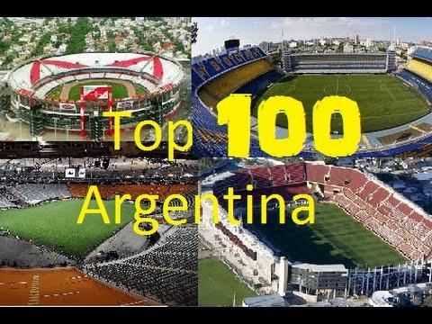 TOP 100 Estadio Argentinos, Los Mejores Y De Mayor Capacidad 2017