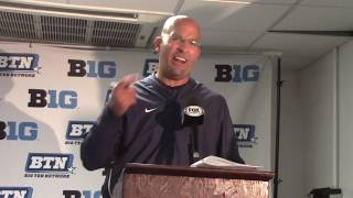 Penn State 63 - Illinois 24: James Franklin