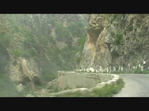Kabylie : La route Gorges de Kherrata - Béjaia Mai 2009 poster