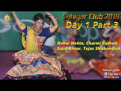 Live Dandiya 2018 | Sahiyar Club | Day 1 Part 3 | Titodo | Rahul Mehta | Charmi Rathod