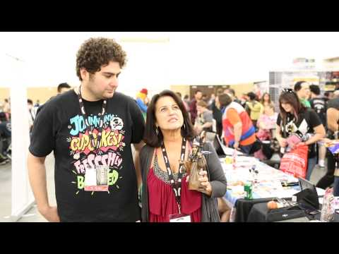 with Barbara Goodson At Power Morphicon 2014