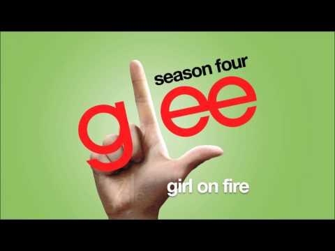 Girl On Fire | Glee [HD FULL STUDIO]
