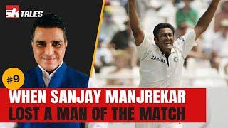 When Sanjay Manjrekar lost a well deserved Man of the Match | SK Tales screenshot 5
