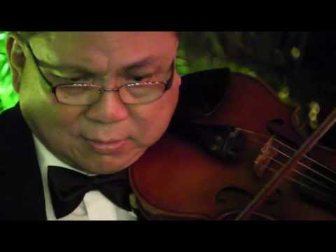 Beyond The Sea La Mer (French Music 法國音樂) - HK Wedding Live Jazz Band: Violin,Piano,Double Bass @L16