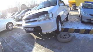 Друг в бидЭ ) Как снять машину с поребрика!