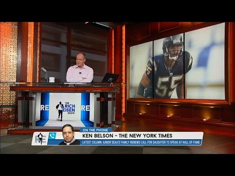 Ken Benson of The NY Times on Why Junior Seau's Family Is Not Allowed to Speak at HOF - 7/28/15