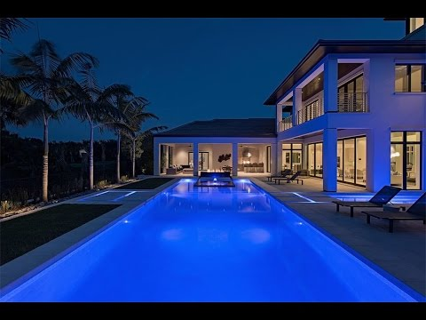 Stunning Contemporary Estate in Naples, Florida