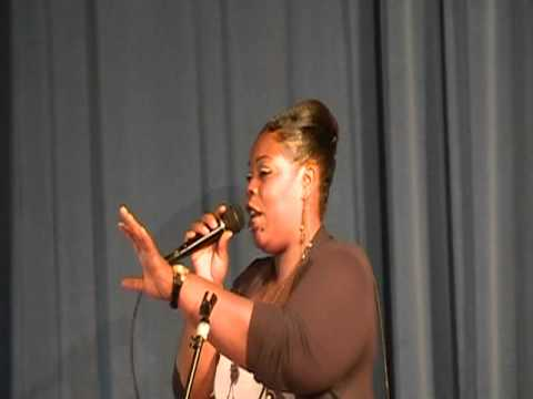 QUEEN CHANISE,  SINGS 1 SONGS,  BLACK MUSIC MONTH CELEBRATION