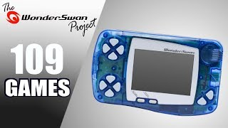 The WonderSwan Project - All 109 WS Games - Every Game (JP)
