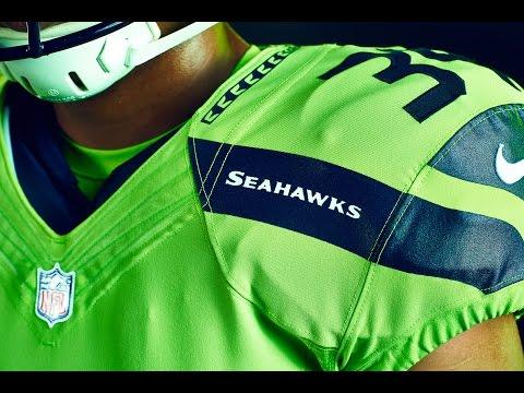 Seahawks Reveal Action Green Uniform