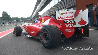 Ferrari Corse Clienti - 1 Hour of EPIC F1, FXX-K & 599XX SOUNDS!