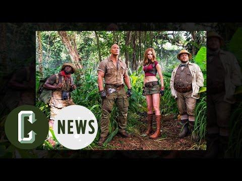 Jumanji Image Reveals Dwayne Johnson & Kevin Hart | Collider News