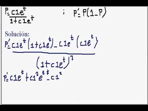 Ricatti ecuacion diferencial