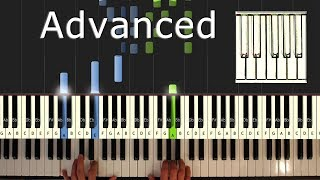 Rockstar - Post Malone - Piano Tutorial Easy - ft. 21 Savage - How To Play (Synthesia)