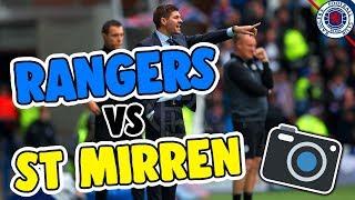 RANGERS 2-0 ST MIRREN | RANGERS FANS AT THEIR FINEST! (AMAZING ATMOSPHERE)