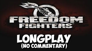 Freedom Fighters [Longplay] [Full Game](2018)[No Commentary] Gameplay Walkthrough [PS2 1080p 60FPS]