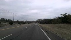 Texas Hill Country: Blanco, Johnson City, Marble Falls US 281 Time Lapse