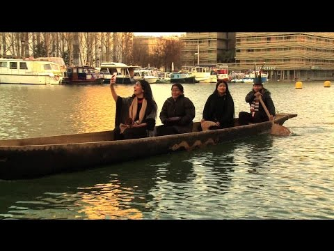 Indigenous Group Canoes 6,000 Miles from Amazon to Paris to Call for Climate Action