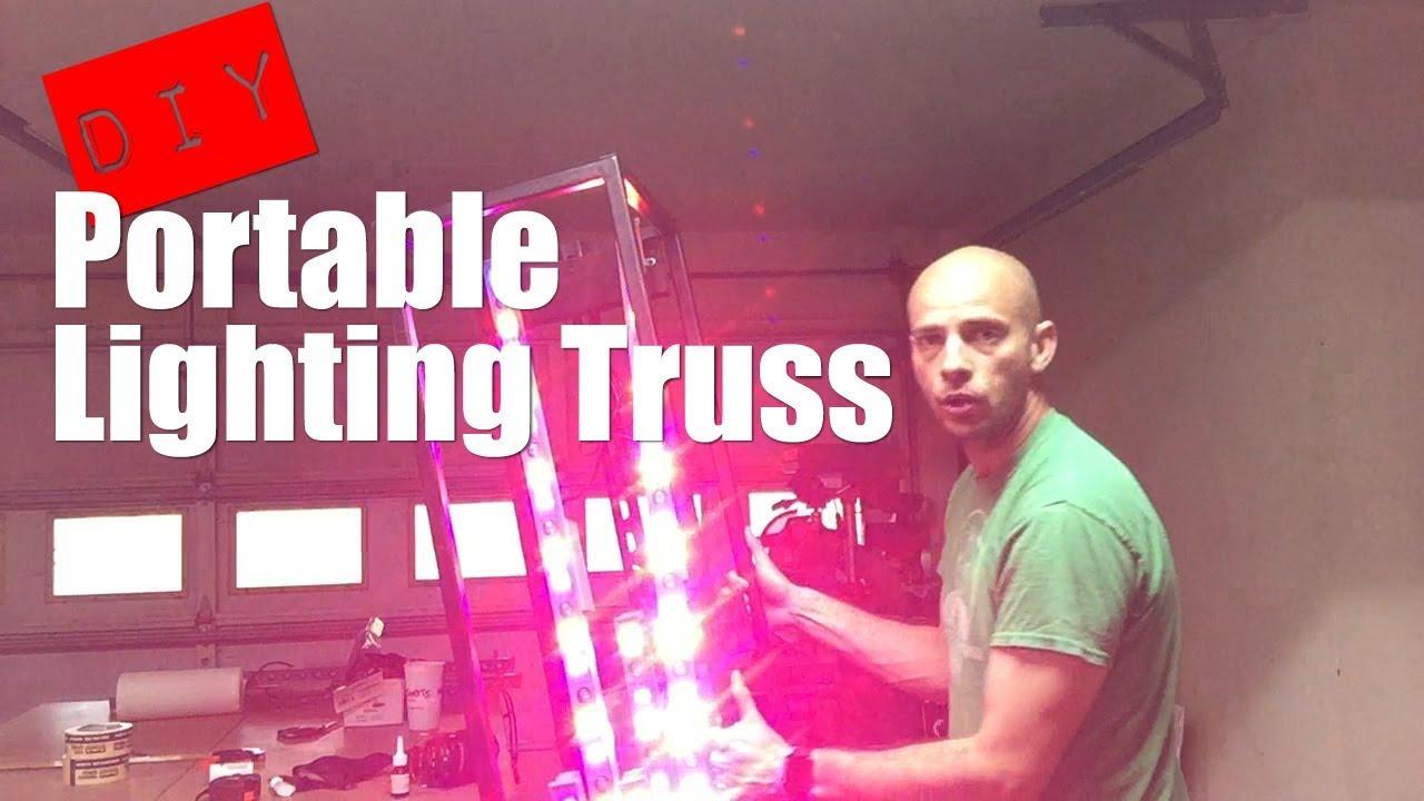 DIY Portable Lighting Truss