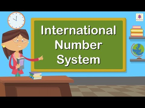 International Number System | Maths For Kids | Periwinkle