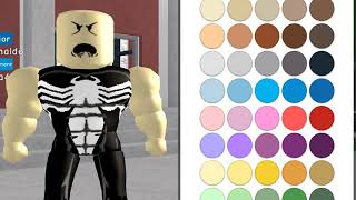 | Roblox| How to be Venom in Robloxian Highschool!