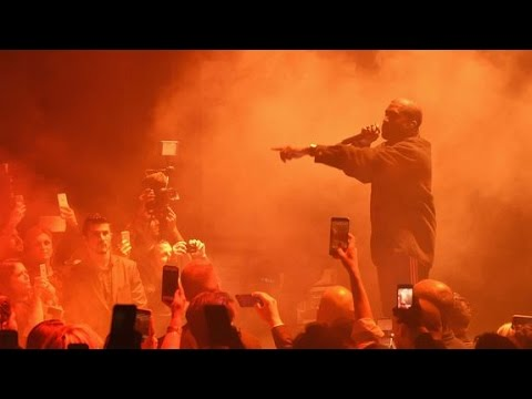 Kanye West&39;s  speech about Trump at the Saint Pablo Tour in San Jose on November 17