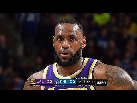 Los Angeles Lakers vs Philadelphia Sixers - Full Highlights   February 10, 2019   2018-19 NBA Season