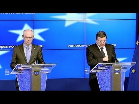 Bruxelles presse l'Ukraine de ne pas lui tourner le dos