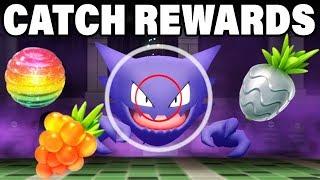Pokemon Let's Go Catch Rewards ARE PERFECTION!