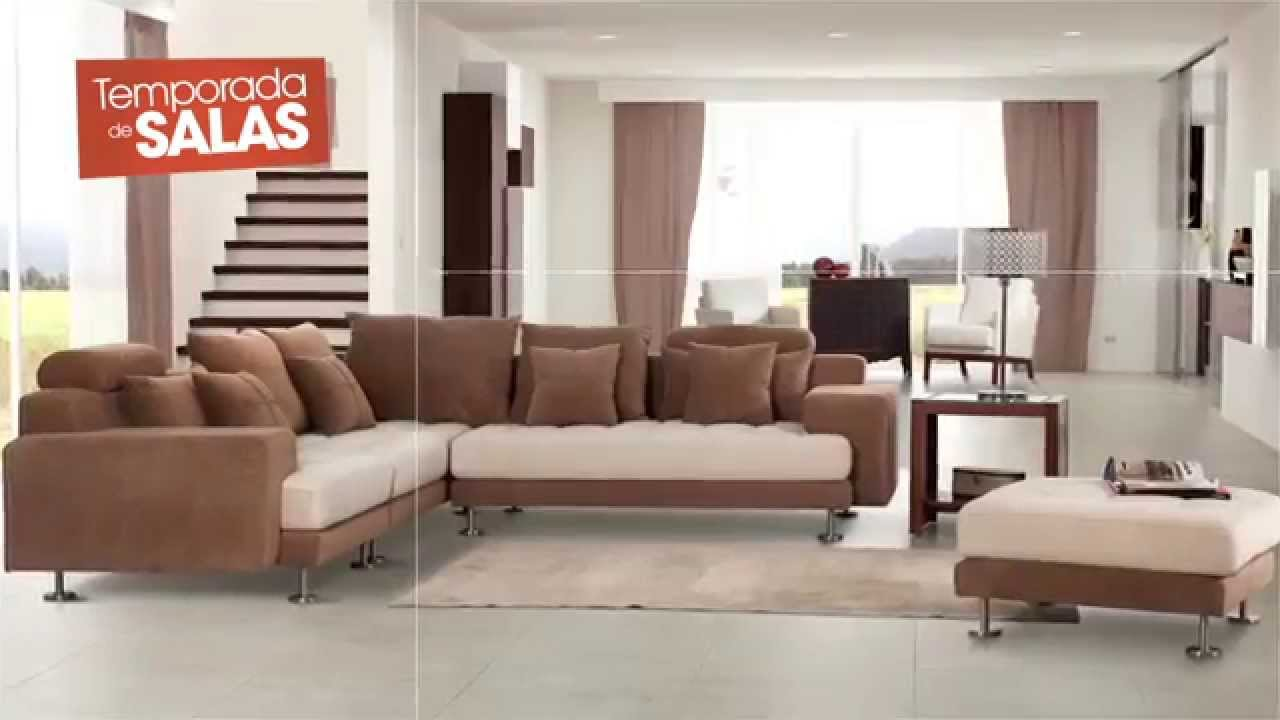 Temporada de salas colineal youtube for Muebles modernos de sala 2016