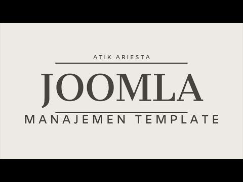 Joomla! 3.9 - Manajemen Template thumbnail