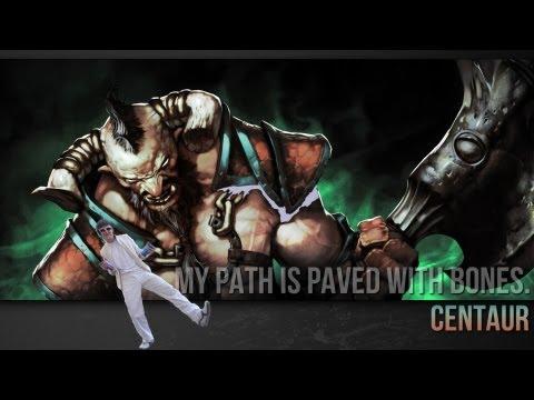 видео: Дота 2 Гайд по centaur warrunner.  Побегал за кентавра :)