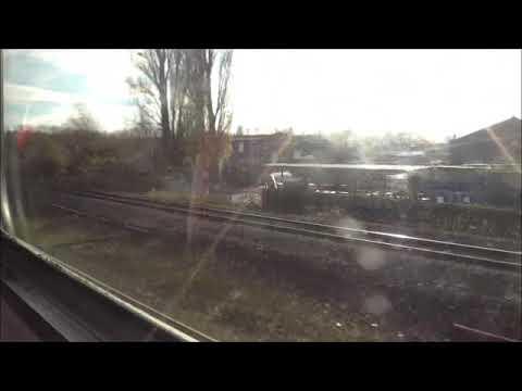 East Midlands Train Nottingham To Skegness Service On 14/11/17