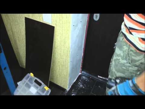 Отделка портала на входную дверь  Видео урок