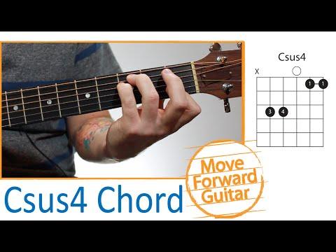 Csus4 Guitar Chord Chordsscales