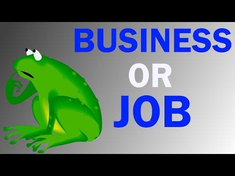 नौकरी के फायदे - Business Kare Ya Job Hindi