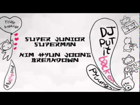 [instru Remix]Super Junior ft Kim Hyun Joong-Super Breakdown [d/l]