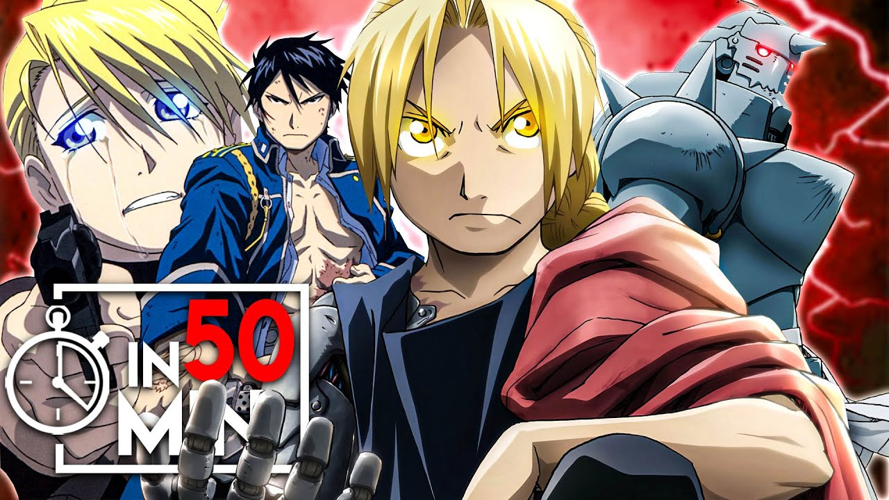 Download FULLMETAL ALCHEMIST BROTHERHOOD IN 50 MINUTEN
