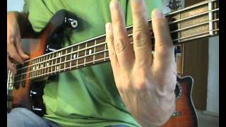 Dire Straits - Walk Of Life - Bass Cover