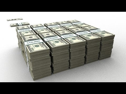 $1 Trillion & US Debt in Physical $100 bills - 2013 Version