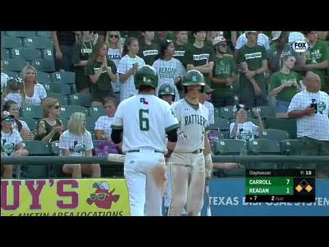 HIGHLIGHTS: Southlake Carrol vs. Reagan | UIL Baseball State Championship