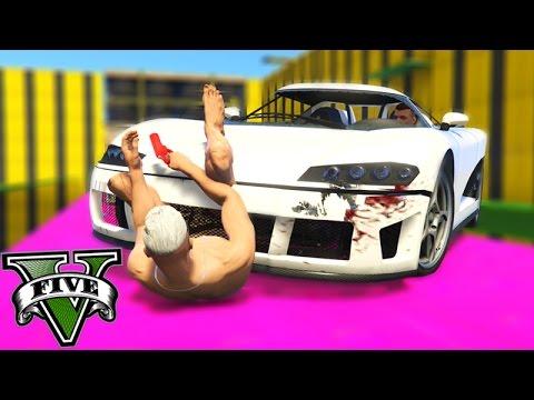 GTA V Online: PARKOUR vs ENTITY XF - A MELHOR até AGORA!!!
