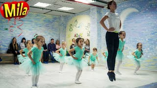 Открытый урок в школе Гимнастики и Танца   Упражнения и Шпагаты
