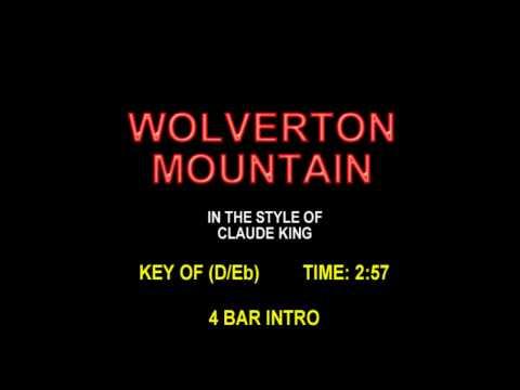 Wolverton Mountain -  Karaoke