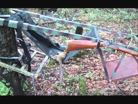 Squirrel Hunting with 32 Caliber Replica Muzzleloading Rifles