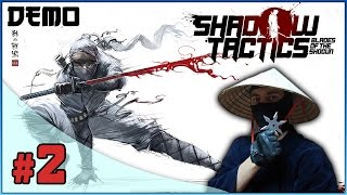 Shadow Tactics: Blades of the Shogun PL #2 - Kunoichi w akcji? | Gameplay | Zagrajmy w | Let's Play