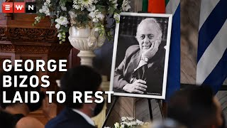 A special state funeral was held for the late advocate George Bizos at the Greek Orthodox Church in Hillbrow. He was laid to rest at Westpark Cemetery.